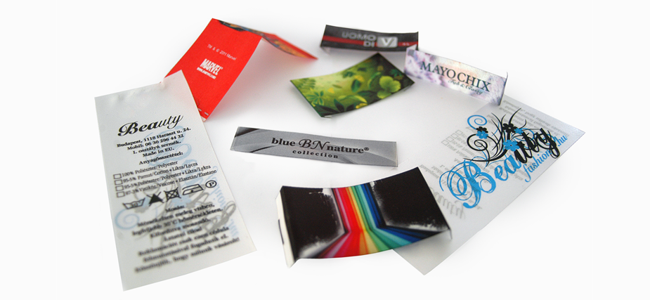 Digital printing labels